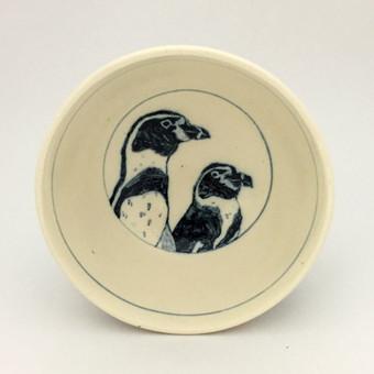 フンボルトペンギン染付デザートカップ