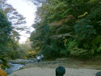 滝周辺の様子