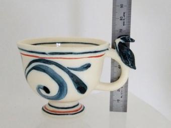 フンボルトペンギンティーカップ(大きさ)