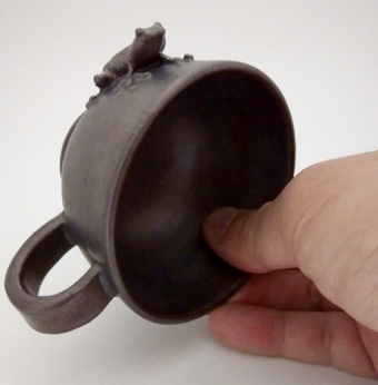 蛙ティーカップ