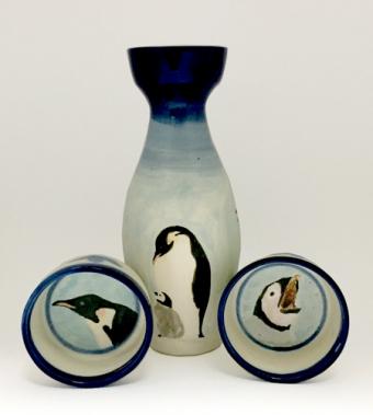 ペンギン酒器セットB