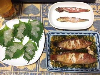 20201205_カワハギ釣行翌日の晩餐