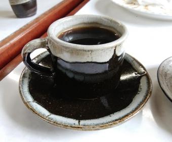 喫茶草原のコーヒーカップ