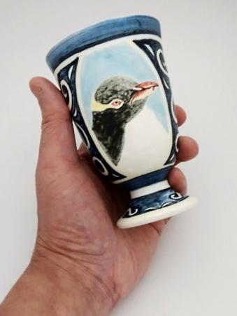 キガシラペンギンゴブレット手持ち